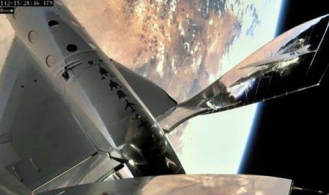 Virgin Galactic направи първото изстрелване на космическа совалка VSS Unity с астронавти на борда (ВИДЕО)