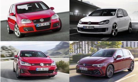 Как се променя VW Golf GTI през годините (ЧАСТ II)