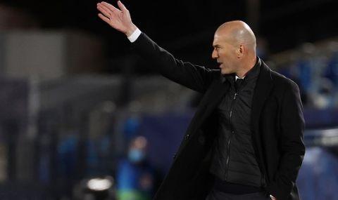 Реал бие шута на Зидан след края на сезона?