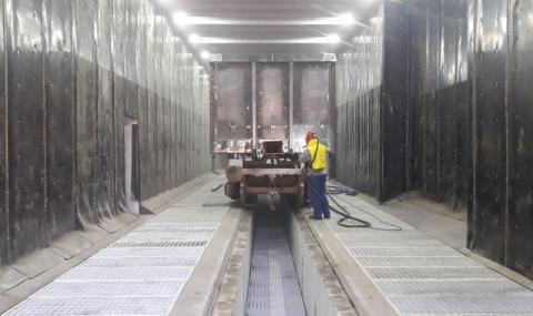 Вагоноремонтният завод в Септември подновява работа