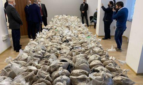 Задържаха 400 килограма хероин във Варна