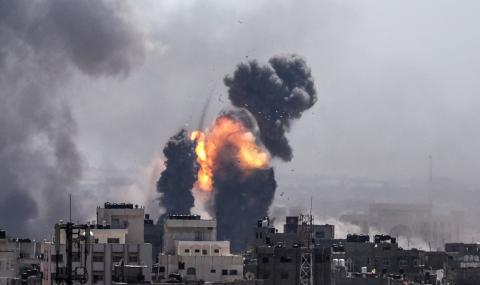 Израел отвърна на удара! Атакува с танкове и авиация