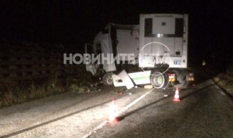 Шофьор на камион загина в Прохода на републиката - 1