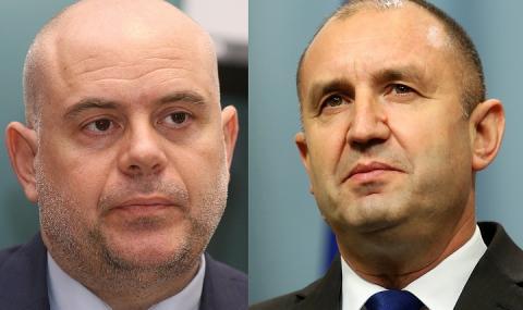 Атаката срещу Гешев започна от Румен Радев. Искат да замъкнат България към Кремъл