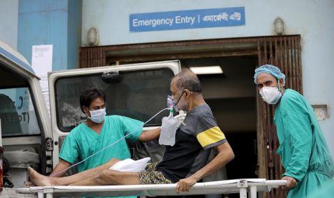 Коронавирус в Индия: трупове в Ганг, над 22 милиона заразени
