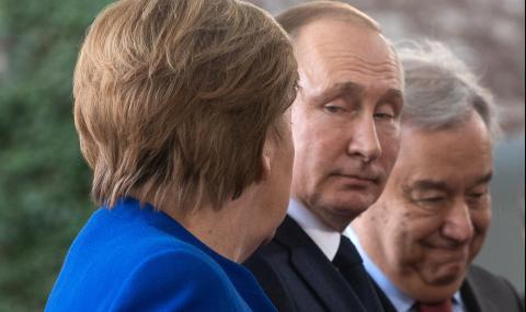 Меркел и съюзниците ѝ се готвят да отмъстят на Путин