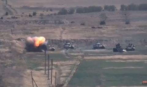 Боевете за Нагорни Карабах продължават