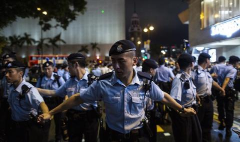 В Хонконг не спират протестите