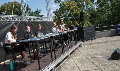 Екологичен протест в Берлин