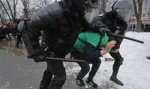 Кремъл обвини САЩ в намеса в съботните демонстрации