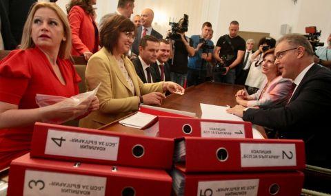 БСП внася документи за участие в изборите