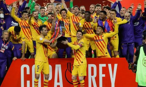 След разгром над Атлетико Билбао: Барса спечели първи трофей с Куман