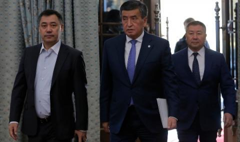 Мирът се върна в Киргизстан