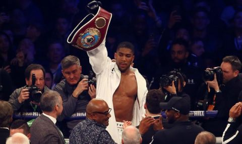 Джошуа смята да се боксира още 5 години