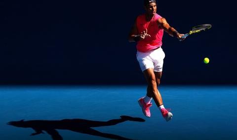 Рафа Надал с гръмко начало на Australian Open