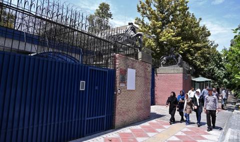 Британското посолство в Техеран отвори врати след 4 години