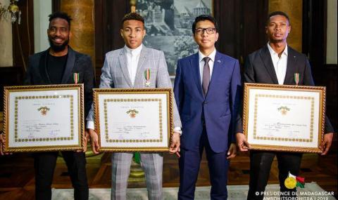 Президентът на Мадагаскар награди ас на Лудогорец