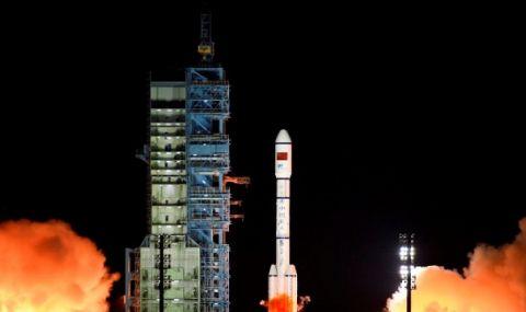 Китай изстреля основния модул на постоянната си космическа станция