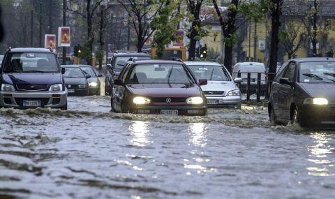 Наводнение в Крим. Наредиха частична евакуация в Ялта - 1