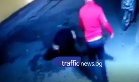 Побой в Пловдив! Насилникът се оказа хвърлилия се в Марица в опит да избегне арест (ВИДЕО)