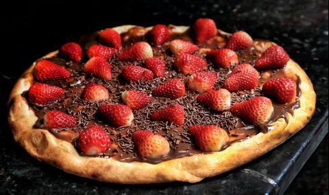 Рецепта на деня: Шоколадова пица