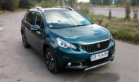 Тест на Peugeot 2008 - 1