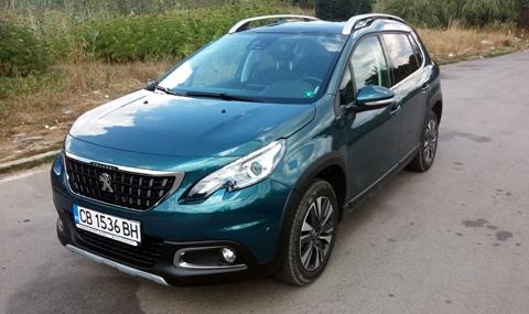 Тест на Peugeot 2008 - 8