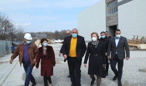 Борисов: До няколко месеца в България ще е готов завод за ваксини