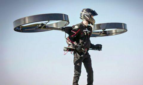 Индивидуалната хеликоптерна раница направи първия си полет (ВИДЕО)