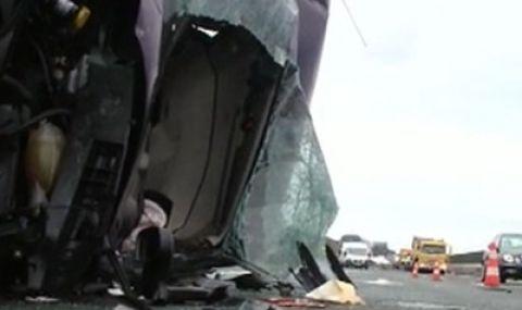 Младо семейство с бебе пострада при тежка катастрофа край Петолъчката - 1