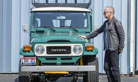 Том Ханкс продава и Toyota-та си Land Cruiser, направена специално за него - 1