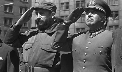 Една снимка на Кастро с ген. Пиночет!