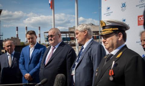 """Започна строителството на новия руски атомен ледоразбивач """"Якутия"""""""