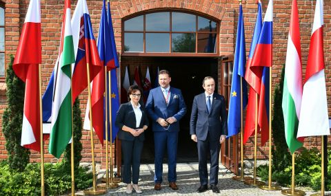 Полша приема среща на Вишеградската четворка