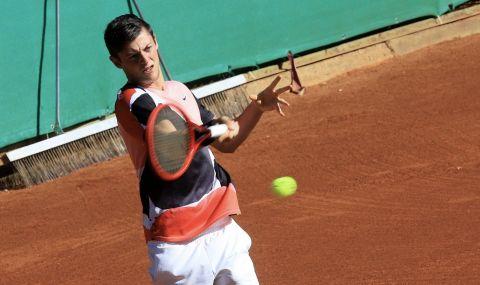 Александър Лазаров триумфира с титлата на турнира UTR Pro Tennis в София - 1