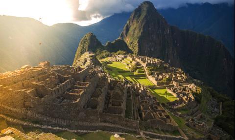 Отвориха Мачу Пикчу за един-единствен турист (ВИДЕО) - 1