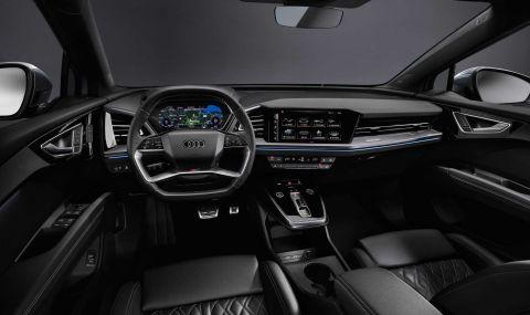 Audi представи електрическото Q4 с различен дизайн и нова платформа - 10