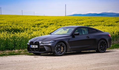 Тествахме новото BMW M4 Competition - 2