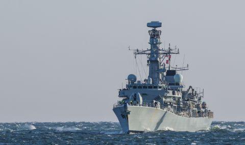 Британски боен кораб прекоси Тайванския пролив - 1