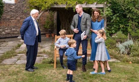 Вижте колко са пораснали децата на Уилям и Кейт (СНИМКИ)
