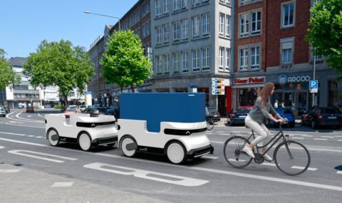 """В Германия се движат """"безжични"""" ремаркета (ВИДЕО)"""