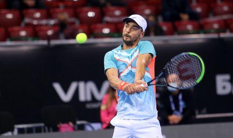 Кузманов със силно послание към съотборниците си в националния тим по тенис