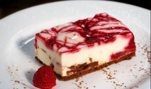 Рецепта на деня: Лесен и красив десерт с бял шоколад