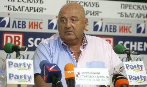 Венци Стефанов: По всяка вероятност ще уволня Тарханов