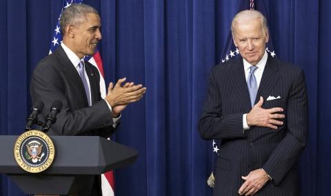Обама официално подкрепи Байдън за президент