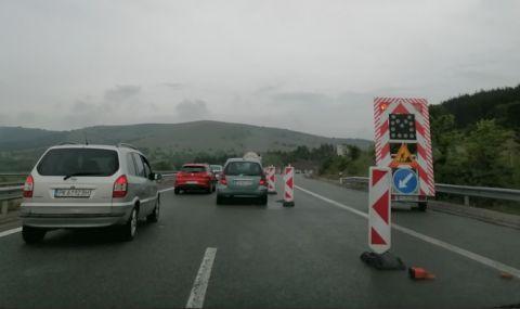 Къде са затворени пътищата в началото на трите почивни дни - 1