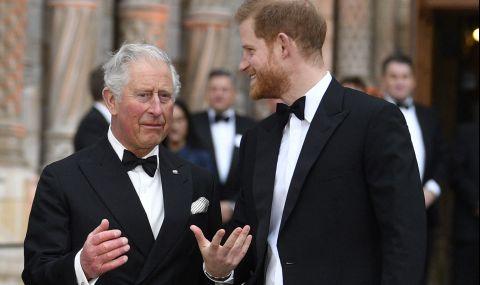 Принц Хари планира вечеря на четири очи с баща си