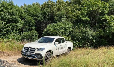 Шеф Андре Токев е катастрофирал с Mercedes X Klasse