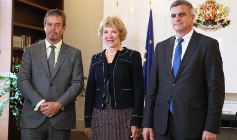 Премиерът Янев се срещна с посланици на партньорски държави