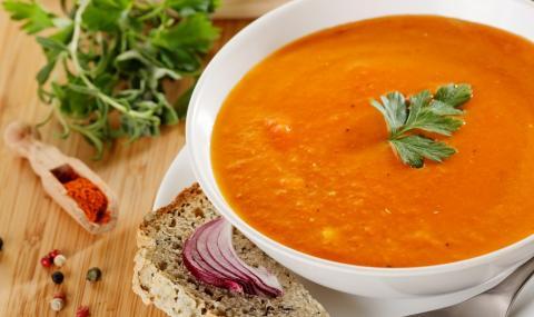 Рецепта на деня: Крем супа от червена леща